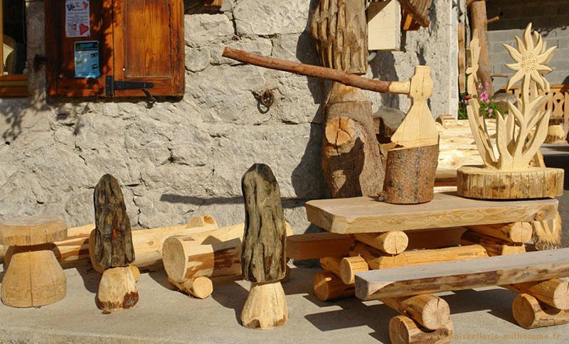 D coration en bois exterieur - Fabrication objet en bois ...