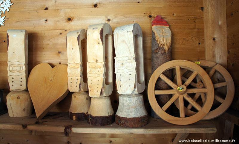 cloches de bois